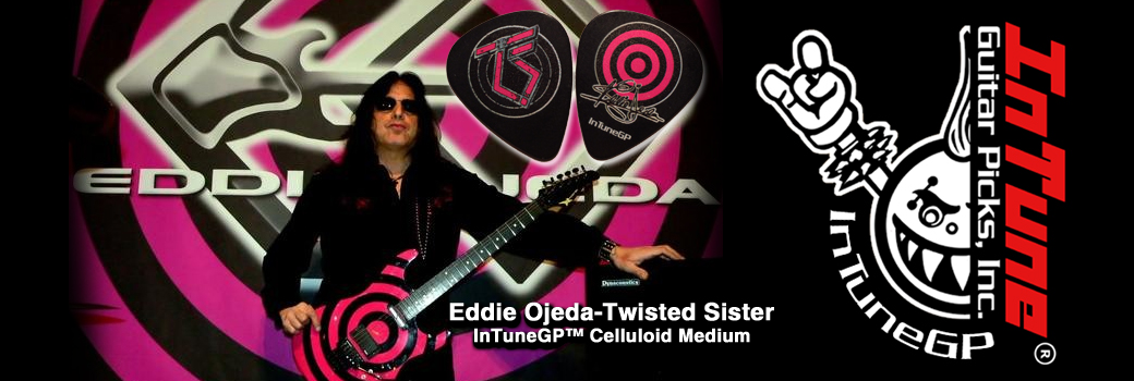 Custom Guitar Picks Eddie Ojeda