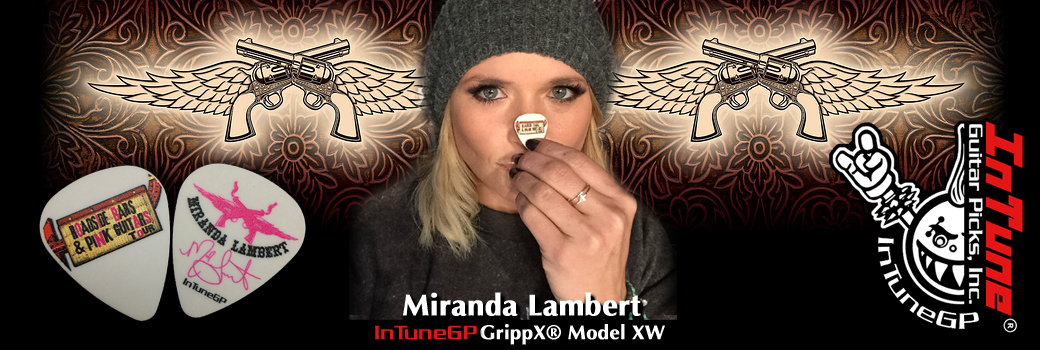 Miranda Lambert Guitar Picks