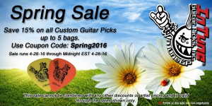 Custom Guitar Picks Sale, Personalized