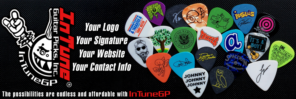 Custom Guitar Picks and Personalized Guitar Picks