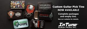 Custom Guitar Pick Tins, Guitar Pick Tins, Personalized