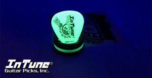 InTuneGP GrippX-Xny Neon Yellow Guitar Picks