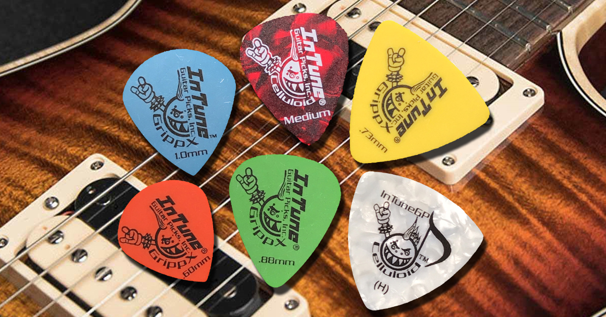Custom Guitar Picks and Guitar Pick Shapes