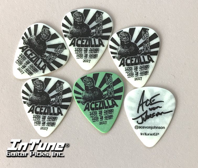 Ace Von Johnson Custom Guitar Picks