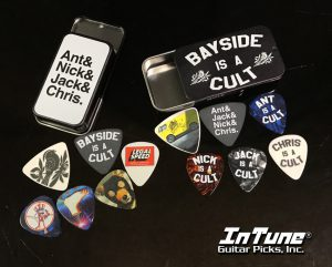 Bayside Guitar Pick Tins by InTune Guitar Picks, Inc.