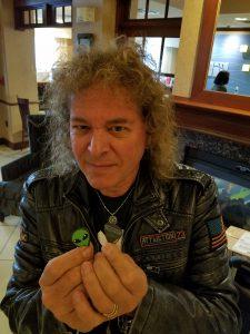 Dave Meniketti Alien Guitar Picks