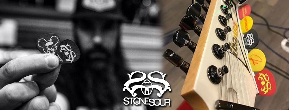 Stone Sour Custom Guitar Picks
