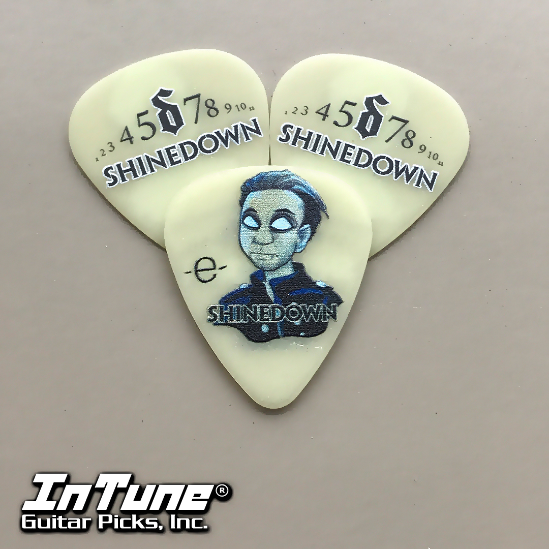 Eric Bass Custom Guitar Picks