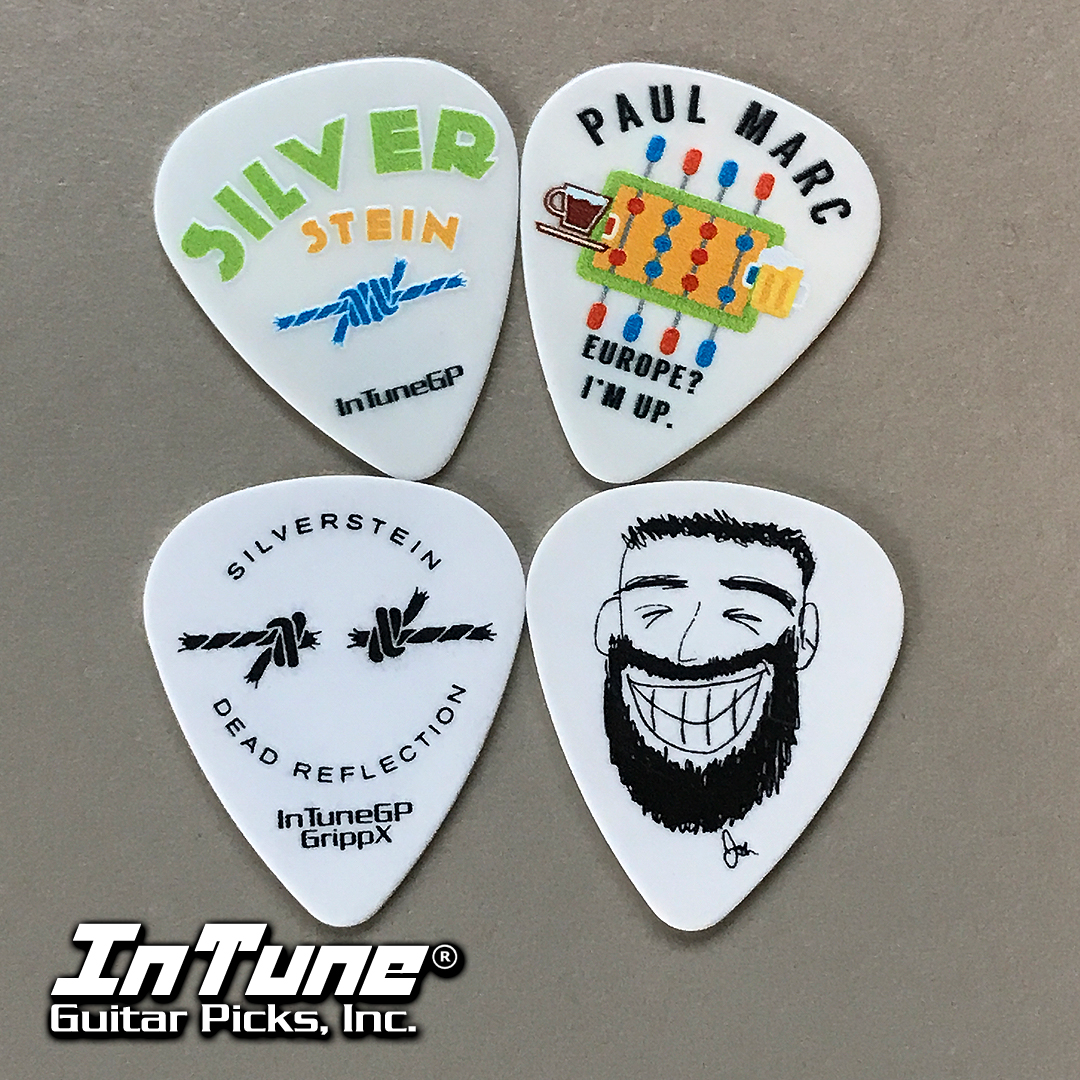 Silverstein Custom Guitar Picks