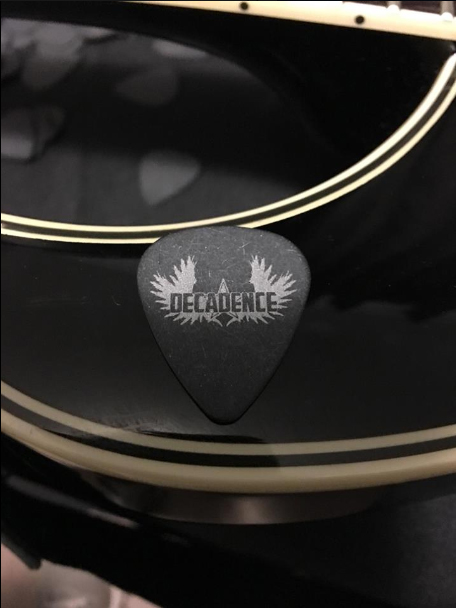 Custom Guitar Picks Decadence