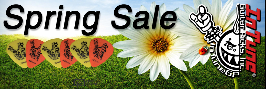 2018 Spring Custom Guitar Pick Sale