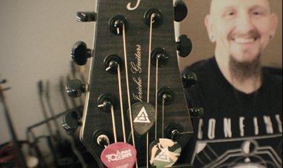 Personalized Guitar Picks Justin, Toarn Custom Guitar Picks
