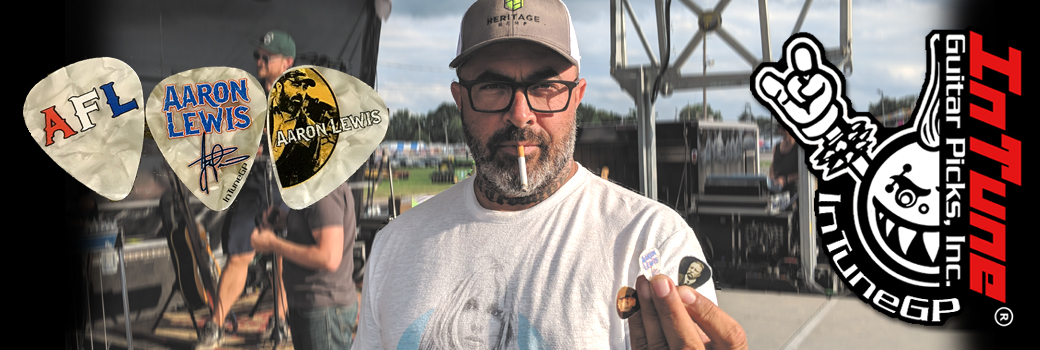 Custom Guitar Picks Aaron Lewis