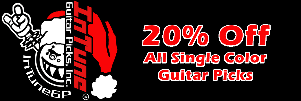 Single Color Custom Guitar Pick Sale
