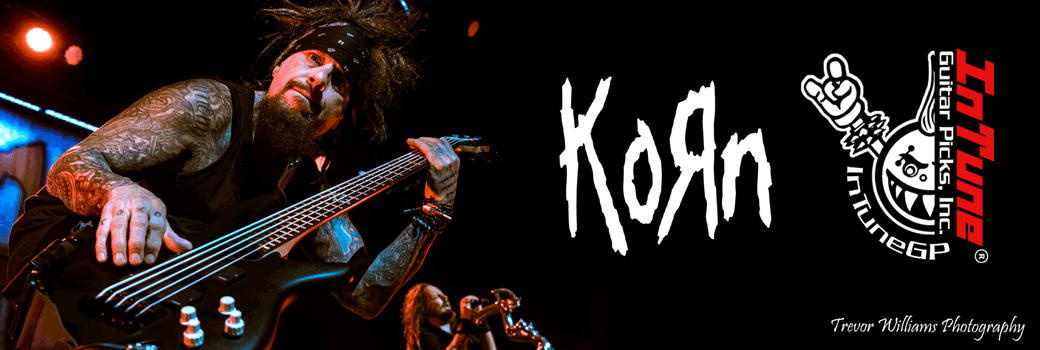 Korn Custom Guitar Picks