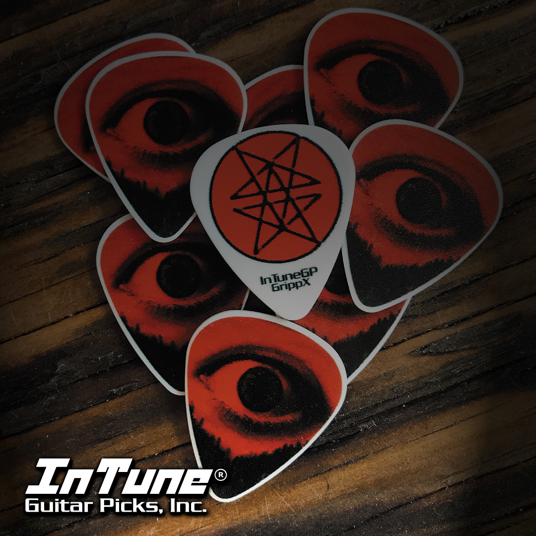 Whitechapel custom guitar picks