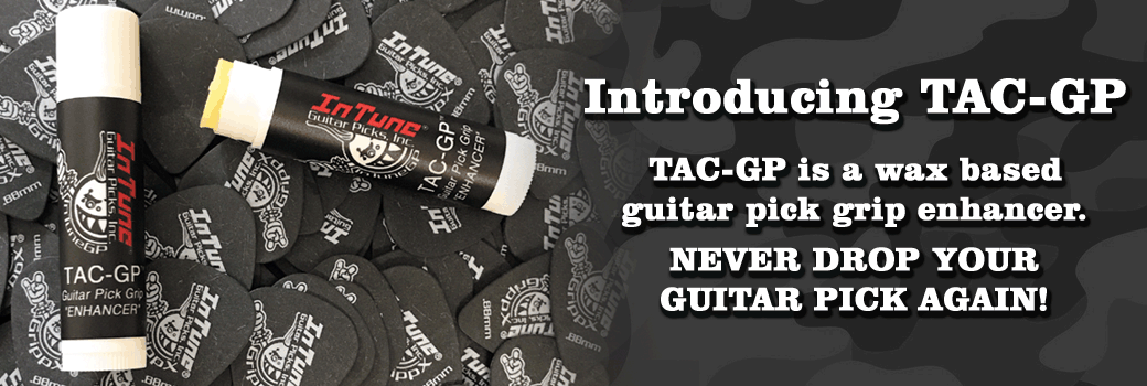 Tac-GP works great on our full color custom guitar picks